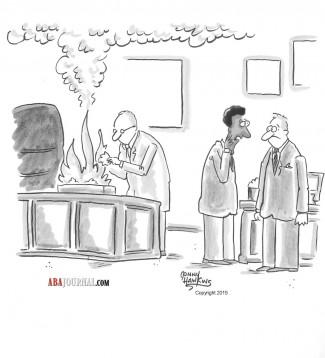 desk fire