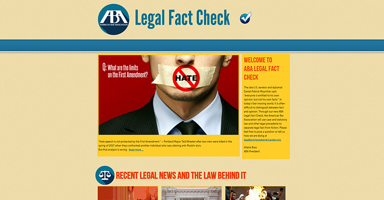 ABA Legal Fact Check