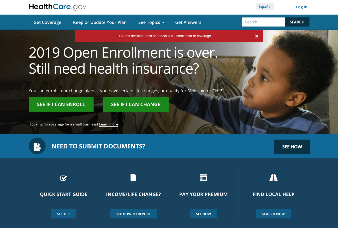 ACA Struck Down in its Entirety by District court judge