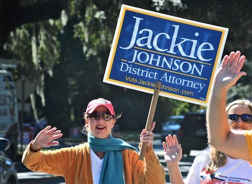 AP photo Jackie Johnson
