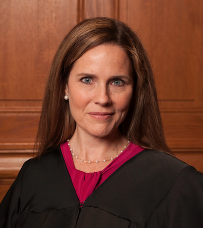 Amy Coney Barrett headshot