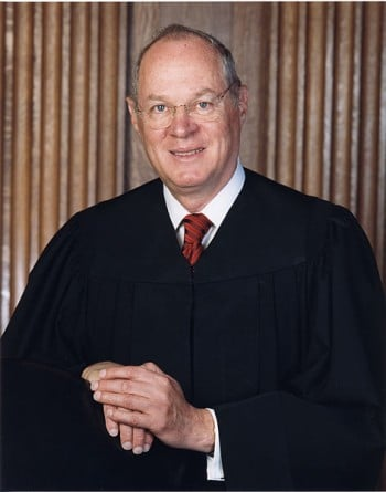 Retired Justice Kennedy says civic dialogue has reached 'a low point'