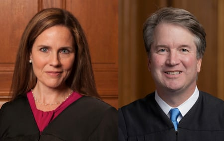 Barrett and Kavanaugh