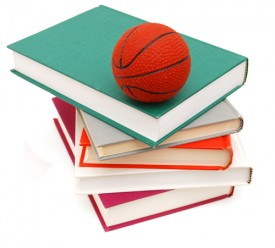 basketball and books