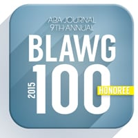 Blwag 100 badge