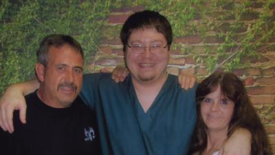 Brendan Dassey and his parents