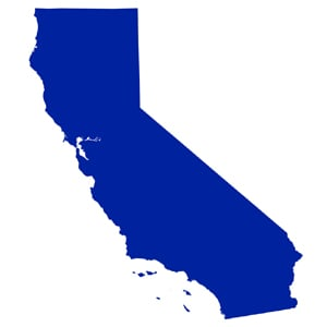 California state outline