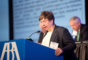 Carol A Sigmond Of The New York County Lawyers Association Photo By Earnie Grafton