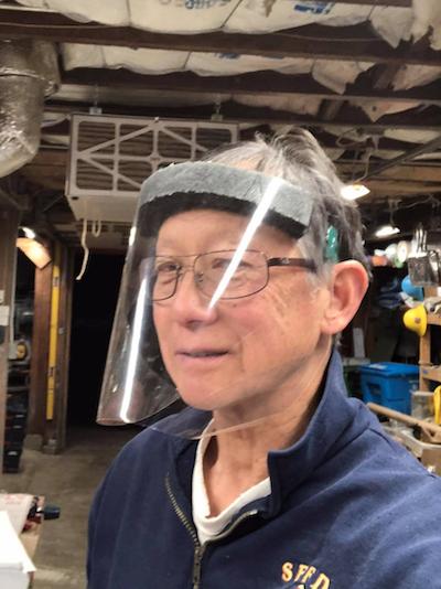 Cy Lo face masks 2