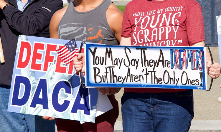 DACA protesters