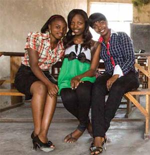 Three Congolese women.