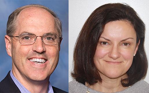 Dave Curran and Ann Dermody