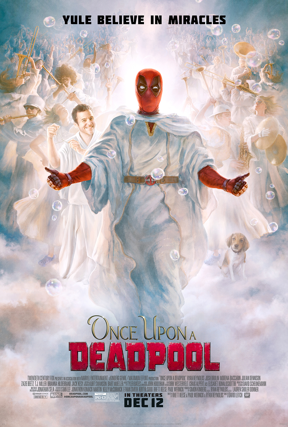 Christmas In Connecticut Dvd.Once Upon A Deadpool Has Fun With Christmas But Is It