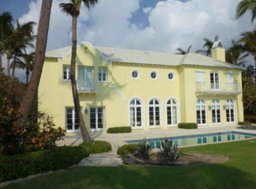 Donald Burns mansion