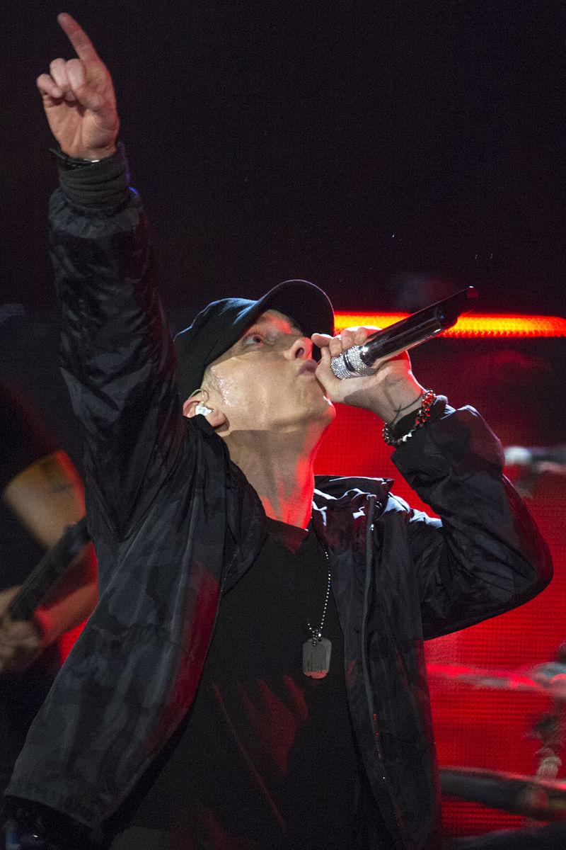 Eminem in 2014