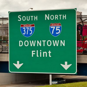 Flint Michigan sign