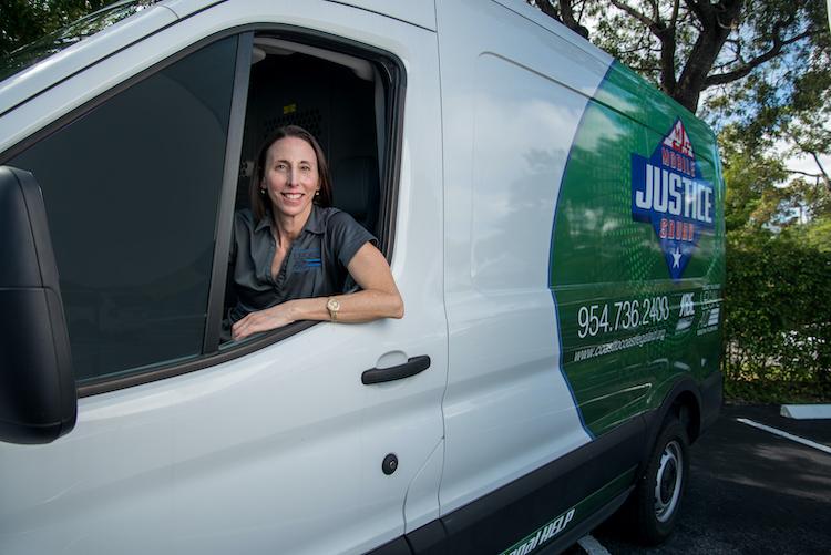 Geraldine DeBianchi Mobile Justice Squad