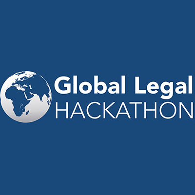 Global Legal Hackathon logo.