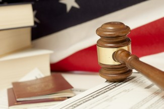 gavel and immigration deportation