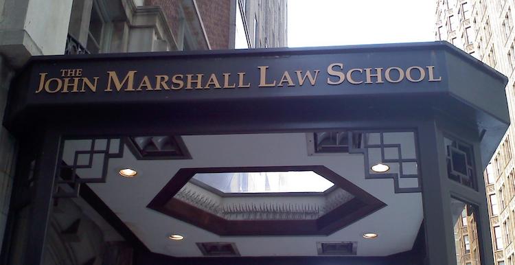 John Marshall Law School Entryway