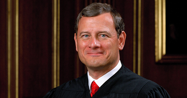 Chief Justice John Roberts was hospitalized in June after fall