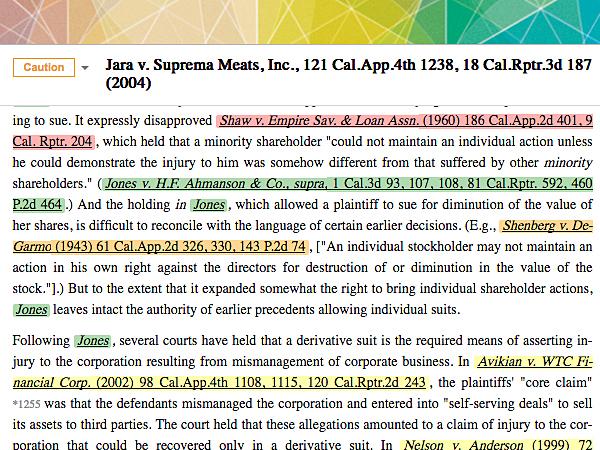 Judicata highlighting.