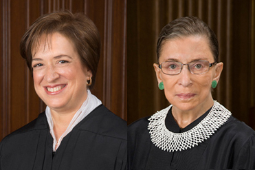 Kagan acknowledges incognito Twitter use; Ginsburg sees obstacles for women