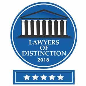 Lawyers of Disctinction logo.