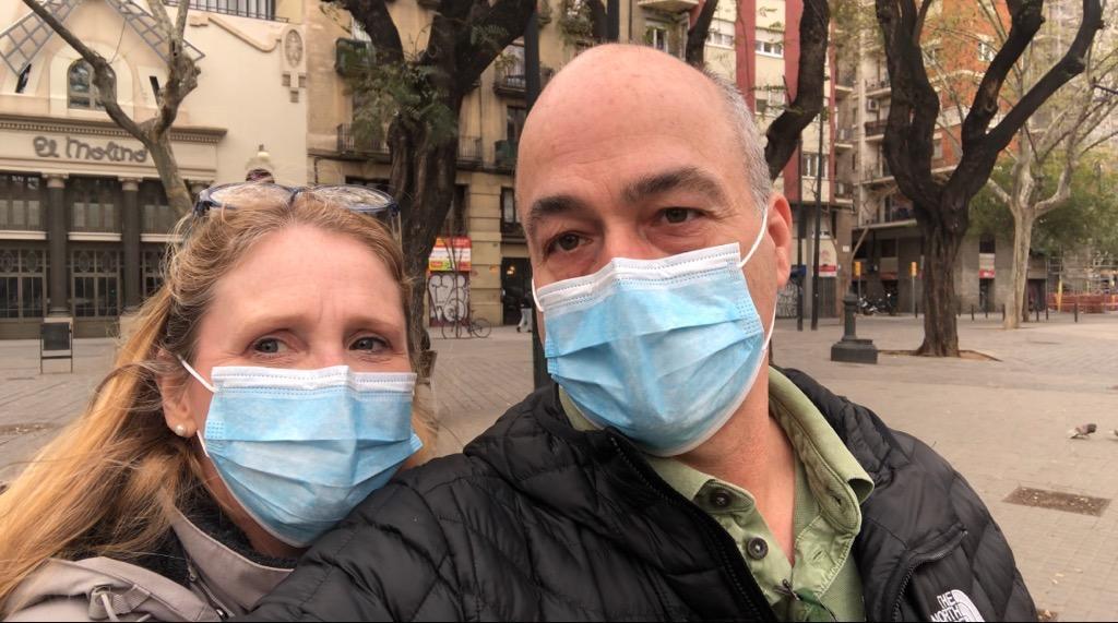 Joanna Mendoza and husband Joe