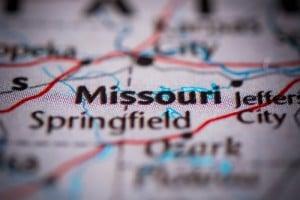 Missouri on map