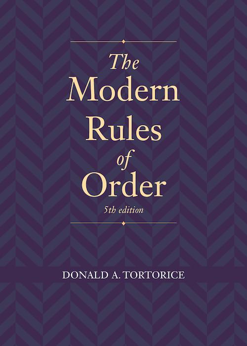 Modern Rules Order book