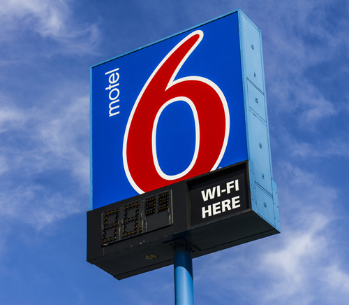 Motel 6 sued for sharing information with feds