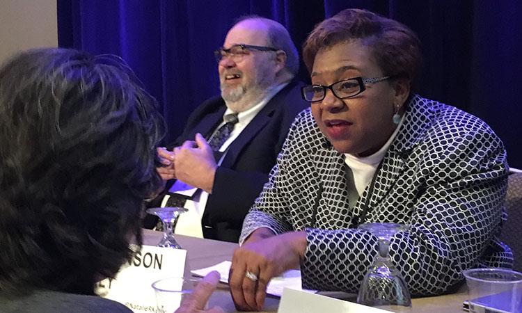 Natalie R. Kelly on ABA Techshow panel.