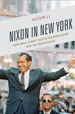 Nixon in New York book cover