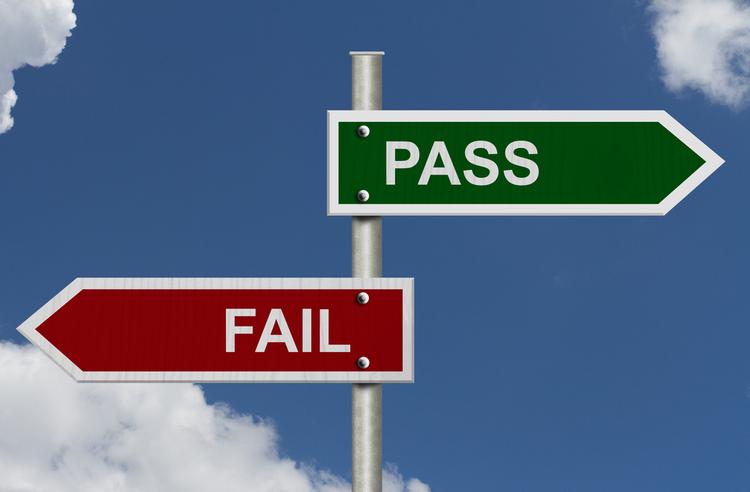 fail pass grades