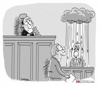rain cloud over witness