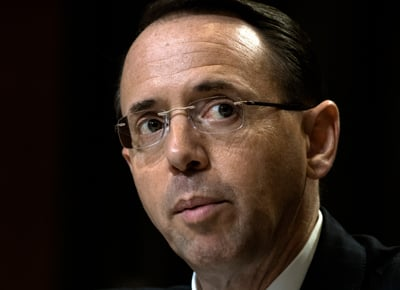 House Republicans Seek Impeachment Of DOJ's Rosenstein