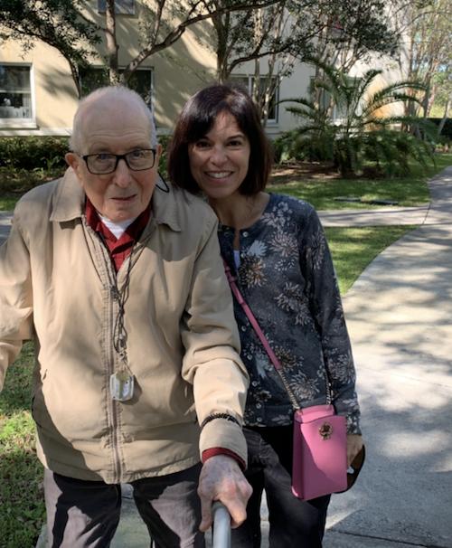 Rosario Lozada and father