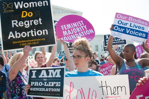 SCOTUS abortion protest