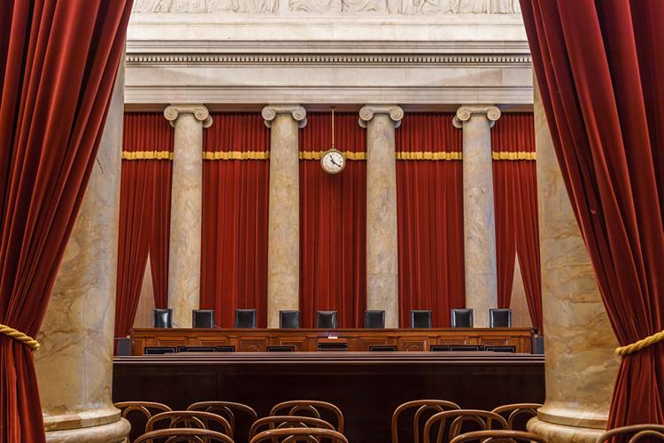 SCOTUS courtroom