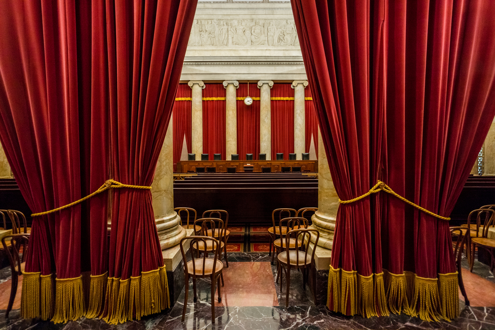 SCOTUS courtroom