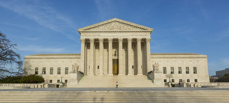 Supreme Court building.