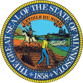 Seal of Minnesota alt - Minnesota Supreme Court rules that warrants are required for searches in driveways
