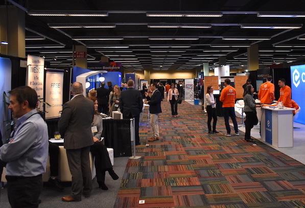 Techshow 2020 expo hall