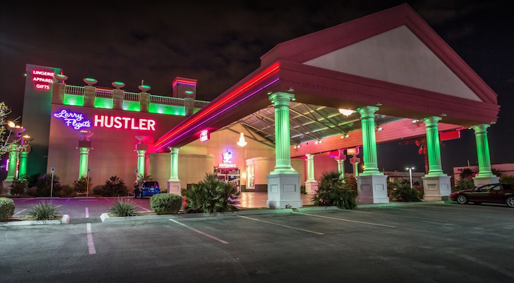 The Hustler Club in Las Vegas