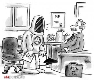 Toxic tort cartoon