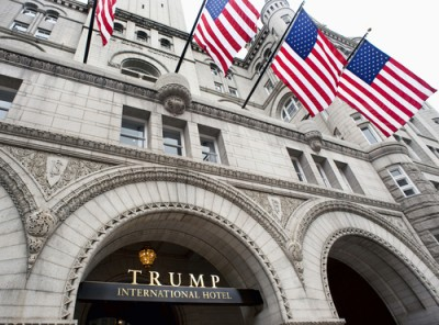 Emoluments suit against Trump clears standing and political question hurdles