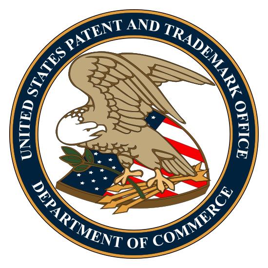 USPTO logo.