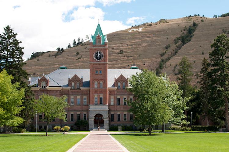 University (Main) Hall, University of Montana