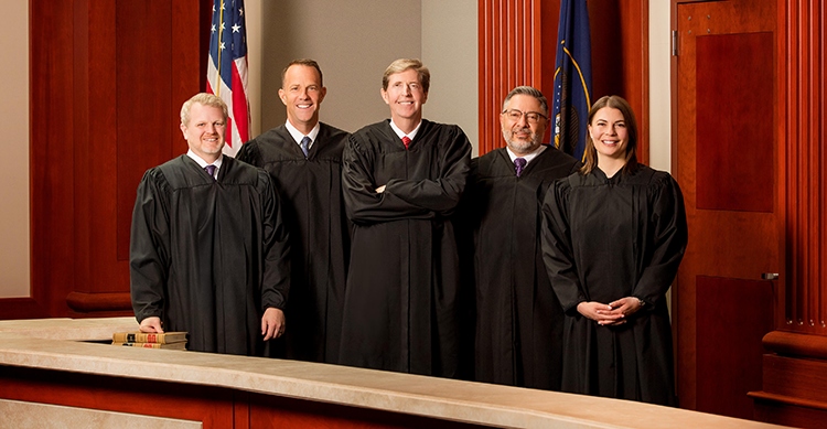Utah Supreme Court justices